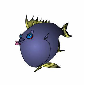 """Pescados de """"Charlene"""" con actitud por Mike Quinn Pin Fotoescultura"""