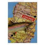 Pescados de Chicago Tarjeta De Felicitación