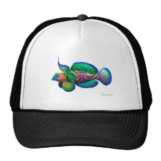 Pescados de Dragonet del mandarín Gorros Bordados