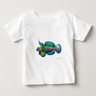 Pescados de Dragonet del mandarín Remeras