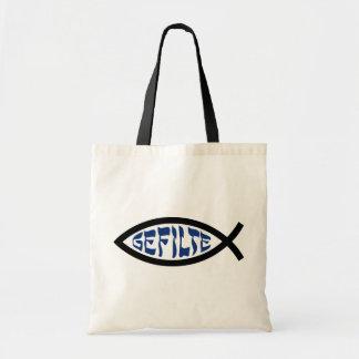 Pescados de Gefilte Jesús Bolsas De Mano
