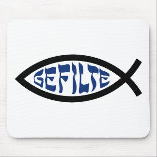 Pescados de Gefilte Jesús Tapete De Ratones