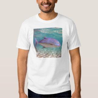 Pescados de Hawaii Trevally Camisas