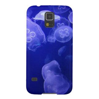 pescados de jalea del caso de las medusas de la carcasa de galaxy s5
