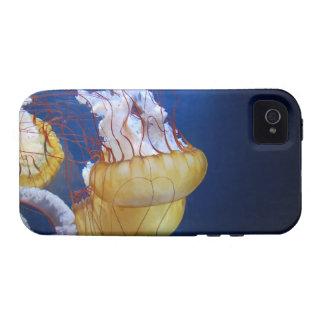Pescados de jalea del océano profundo Case-Mate iPhone 4 funda
