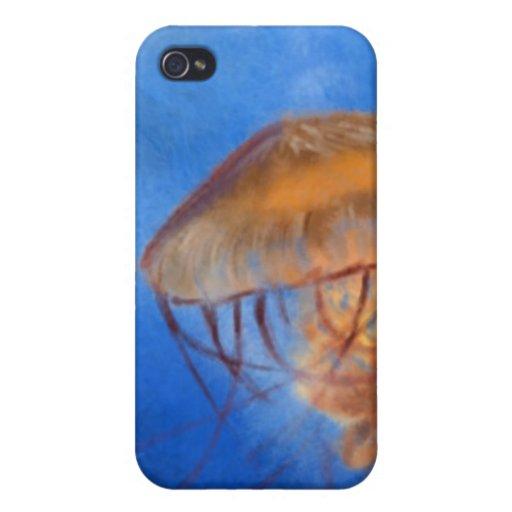 Pescados de jalea iPhone 4/4S fundas