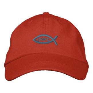 Pescados de Jesús Gorra De Béisbol