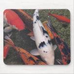 Pescados de Koi Alfombrilla De Raton