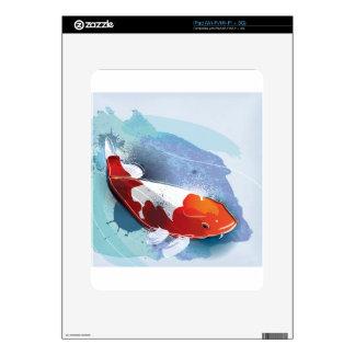 Pescados de Koi Calcomanía Para El iPad