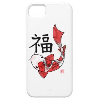 Pescados de Koi con el caso de Iphone 5/5s del iPhone 5 Carcasas