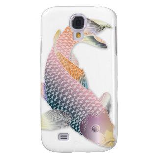 Pescados de Koi del arco iris Funda Para Galaxy S4