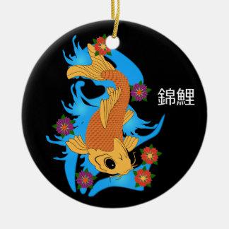 Pescados de Koi del dragón de agua, ornamento Ornamentos De Reyes