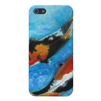 Pescados de Koi iPhone 5 Protector