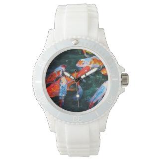 Pescados de Koi Relojes De Pulsera