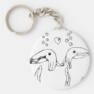 pescados de la abrazo llavero personalizado