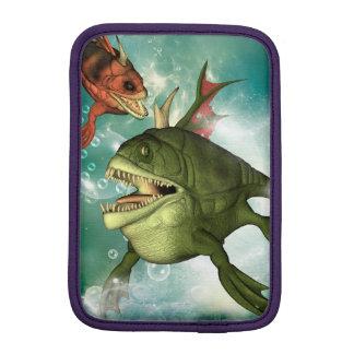 Pescados de la armadura funda iPad mini