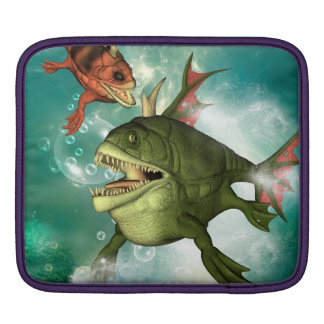 Pescados de la armadura manga de iPad