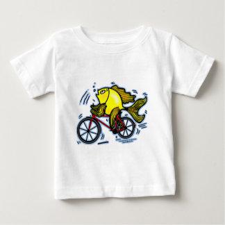Pescados de la bicicleta (bici) tshirt