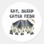 pescados de la captura etiquetas