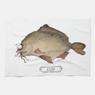 Pescados de la carpa, fernandes tony toalla de mano