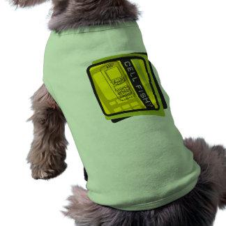 Pescados de la célula camiseta de perrito