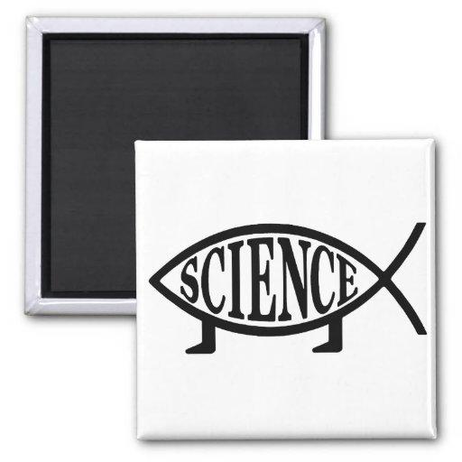 Pescados de la ciencia iman para frigorífico