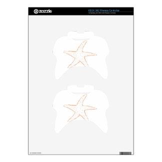 Pescados de la estrella mando xbox 360 skin