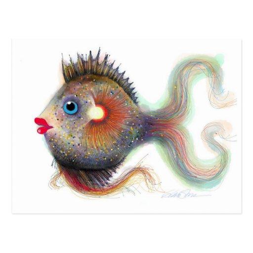 Pescados de la fantasía: Postales de lujo