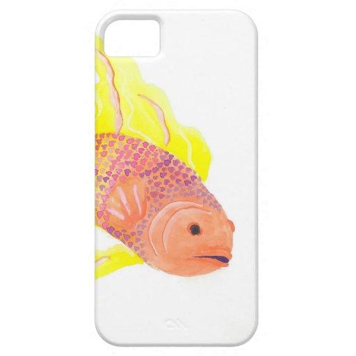 Pescados de la llama iPhone 5 Case-Mate cárcasa