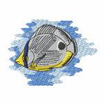Pescados de la mariposa de Foureye Camiseta Polo