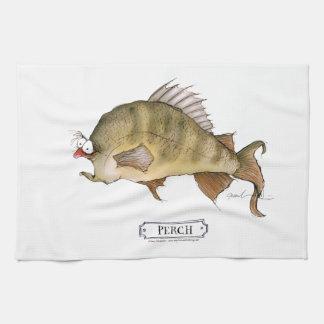 Pescados de la perca, fernandes tony toallas de cocina