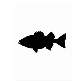 Pescados de la perca postal