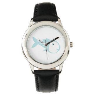 Pescados de la radiografía relojes de pulsera