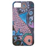 Pescados de la teja de mosaico iPhone 5 protector