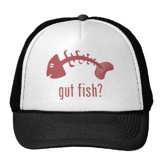 ¿Pescados de la tripa? Gorra