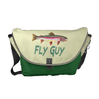 Pescados de la trucha arco iris bolsas de mensajería