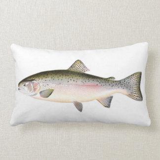 Pescados de la trucha arco iris almohadas