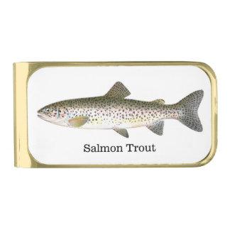 Pescados de la trucha de color salmón