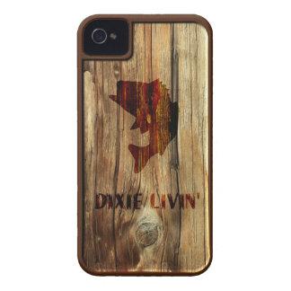 Pescados de la viruta de Dixie Livin iPhone 4 Case-Mate Protector