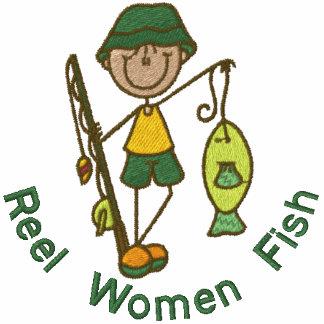 Pescados de las mujeres del carrete