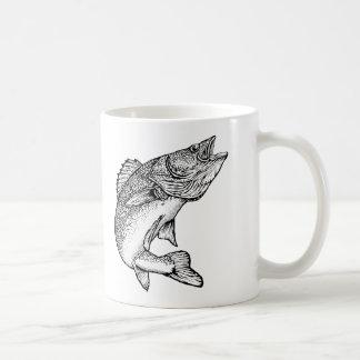 Pescados de los leucomas taza