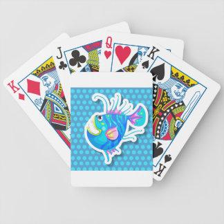 Pescados de lujo baraja de cartas