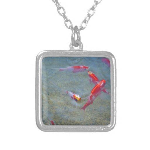 pescados de lujo del oro pendiente personalizado