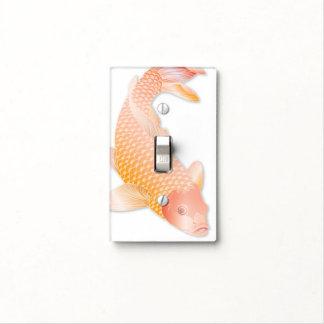 Pescados de oro de Koi - cubierta de interruptor Tapa Para Interruptor