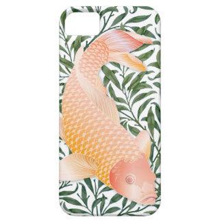 Pescados de oro de Koi y caja verde de las iPhone 5 Case-Mate Carcasas