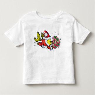 Pescados de Papá Noel - camiseta divertida del Remera