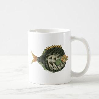Pescados de puerco espín taza