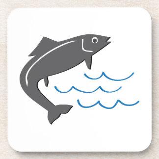 Pescados de salto posavasos
