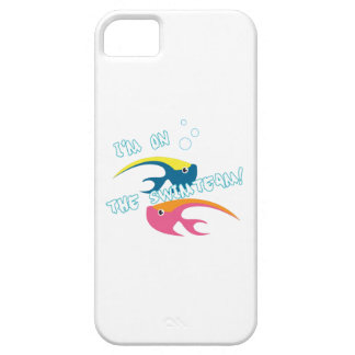 Pescados de Swimteam iPhone 5 Funda