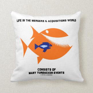Pescados de Turducken del mundo de las fusiones y Cojín